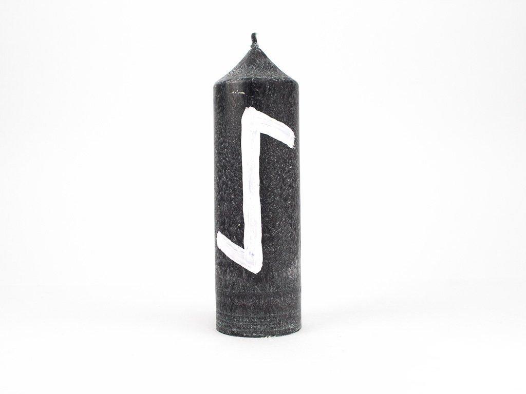 Runová svíce - Eihwaz