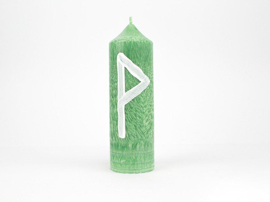 Runová svíce - Wunjo