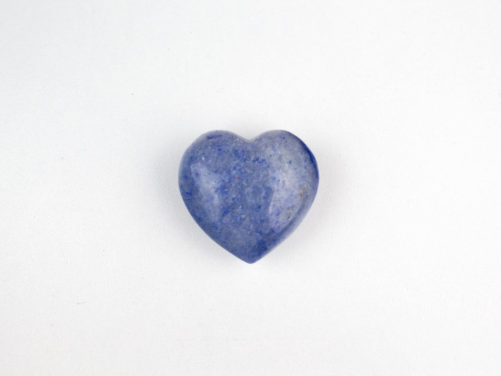 Srdce hmatka - Modrý křemen