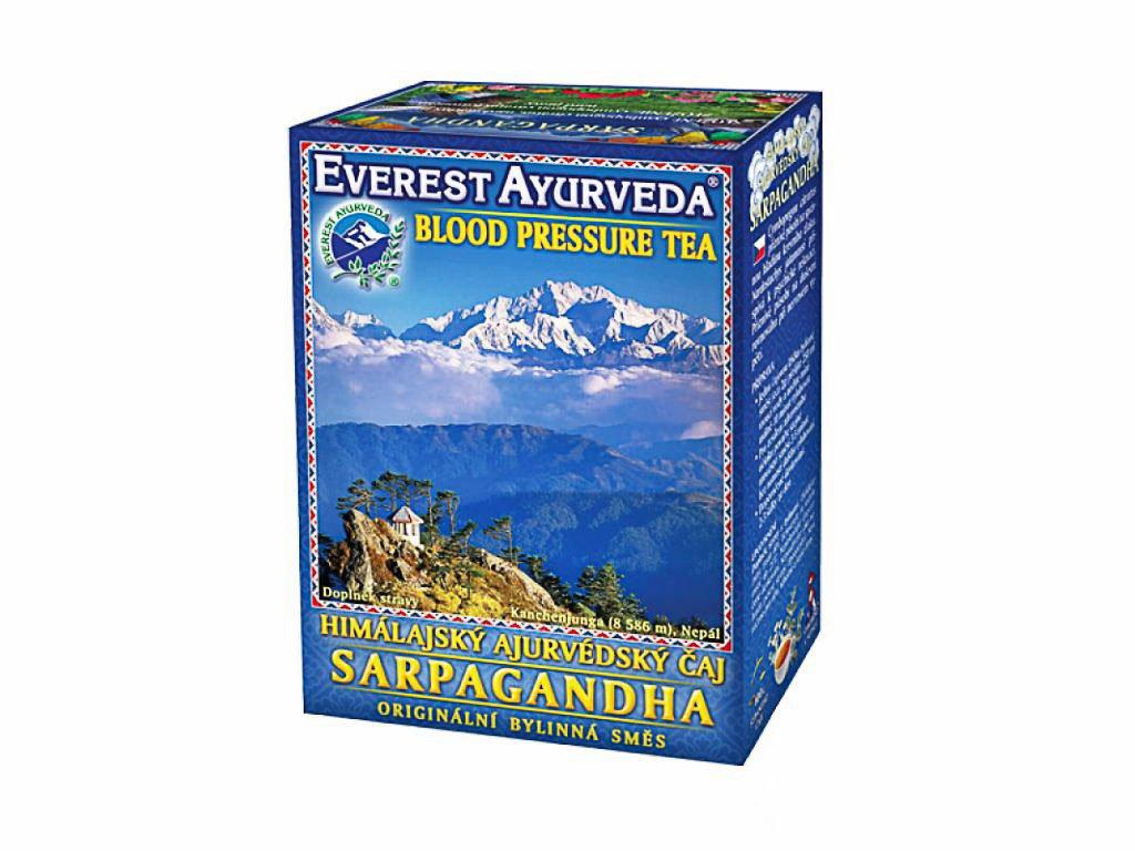 Sarpagandha - zvýšený krevní tlak