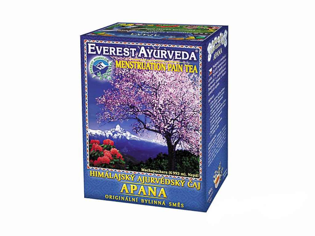 Apana - projevy menstruačního cyklu