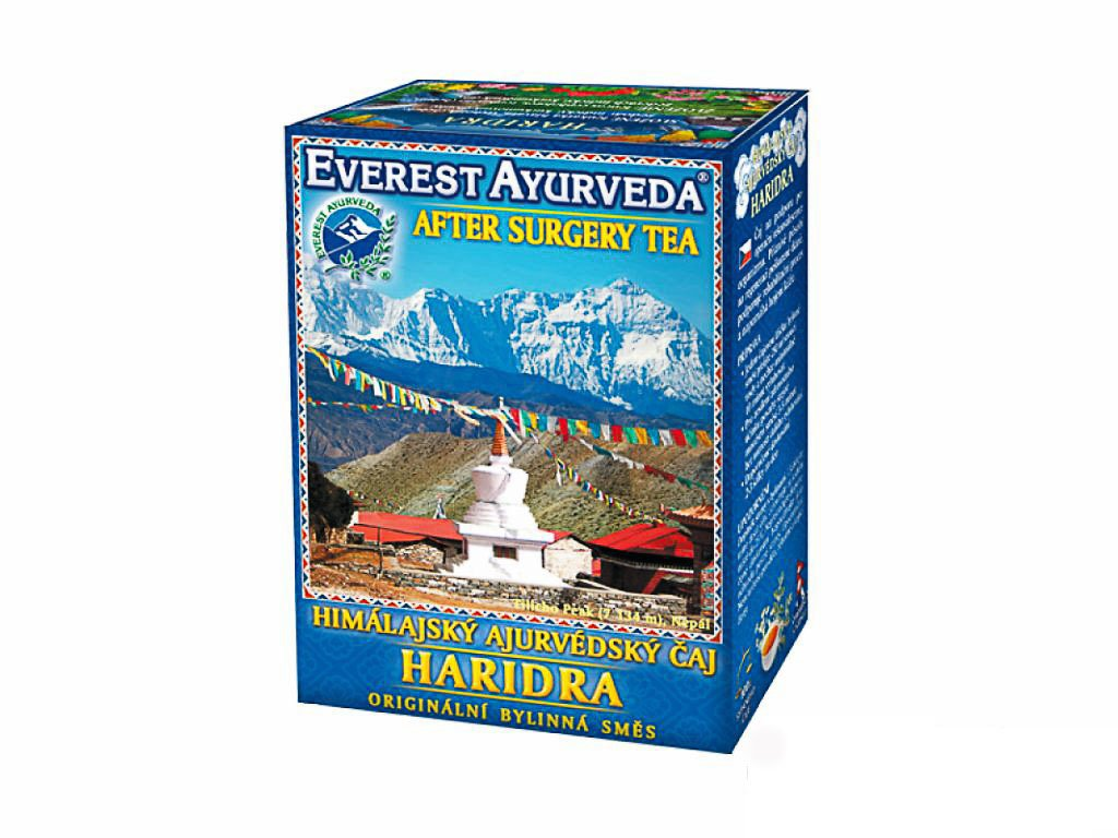 Haridra - pooperační rekonvalescence
