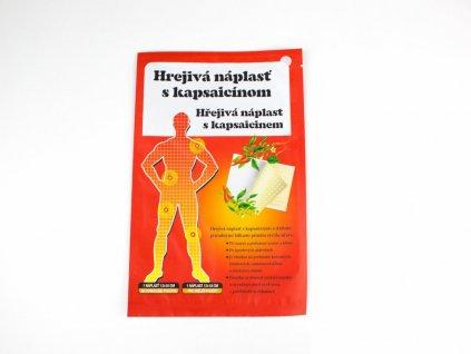 Hřejivá náplast s kapsaicinem