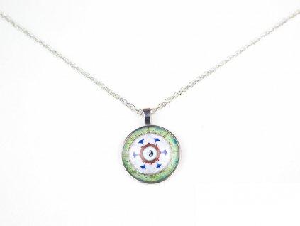 Mandalový náhrdelník 12