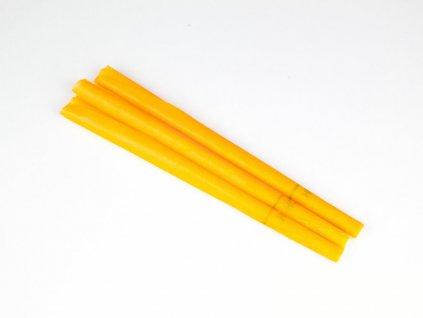Čakrová tělová svíce HOXI - oranžová - 1ks