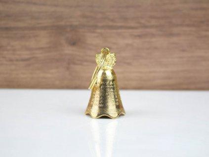 Čínský zvonek - zlatý