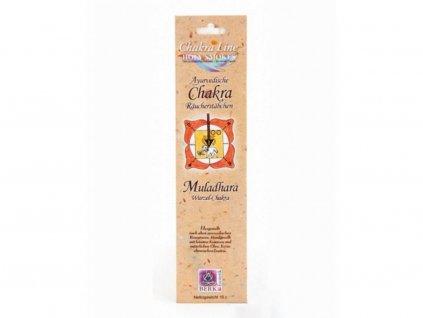 Čakrové tyčinky Holy Smokes Chakra 1 Muladhara
