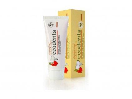 Ecodenta dětská zubní pasta s vůní lesních jahod 75 ml