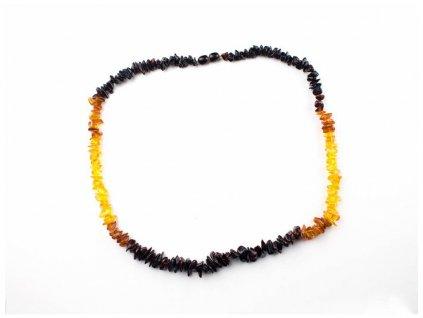 Jantarový náhrdelník - 54cm