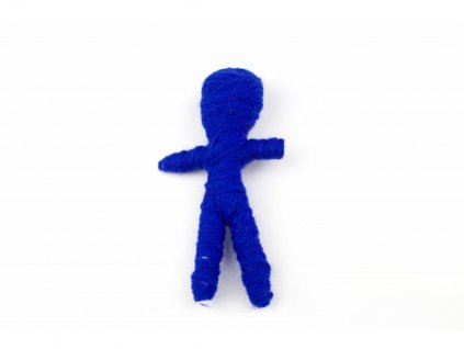 Voodoo panenka - Modrá