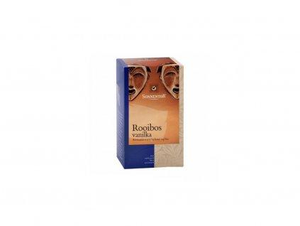 Rooibos vanilka čaj bio 20 g porcovaný jednokomorový