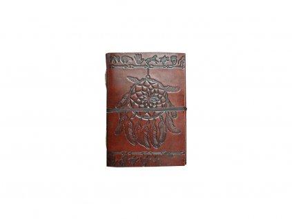 Rituální deník z kůže