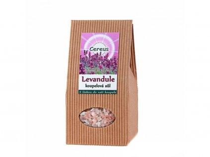 Koupelová sůl - LEVANDULE 500g
