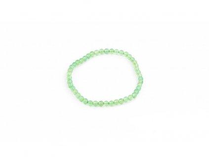 Achát zelený (světlý) - 4mm