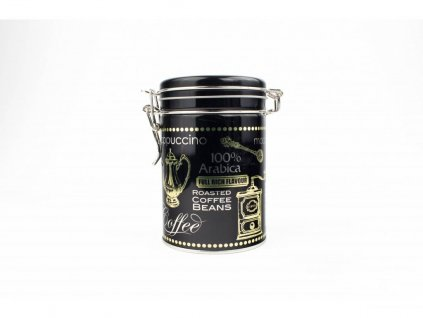 Black coffee 200 g kulatá