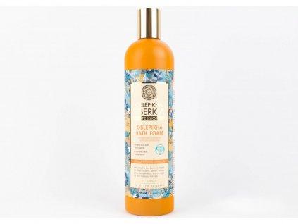 N.S. OBLEPIKHA SIBERICA: Rakytníková pěna do koupele - Intenzívní výživa a hydratace 550ml