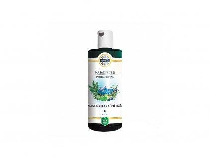 Alpská relaxační směs - masážní olej professional