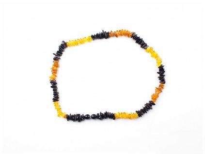 Jantarový náhrdelník - 45cm