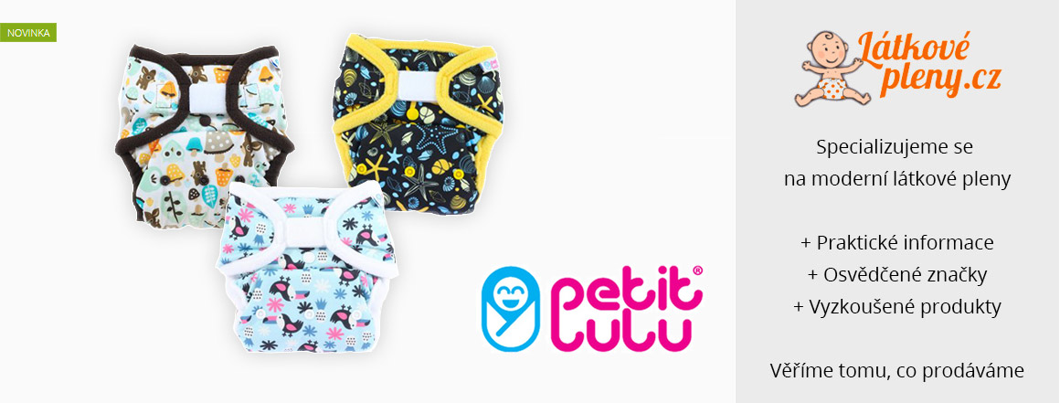 1 Látkové pleny Petit Lulu