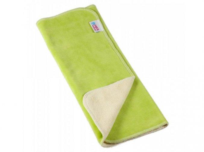 Petit Lulu vícevrstvá bambusová plena, zelená