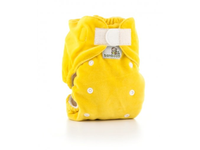 Noční kalhotková plena žlutá, Bamboolik