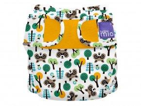 Plenkové kalhotky BambinoMio, Raccoon Retreat
