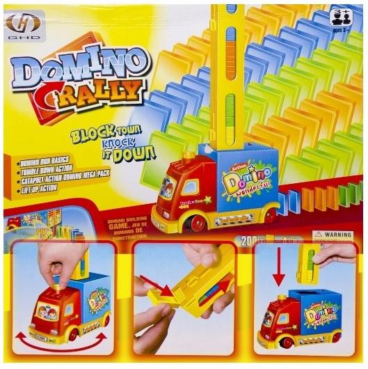 Auto Domino - hračka pro kluky i holky