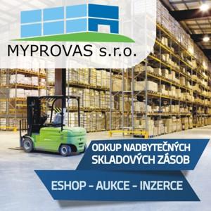 Myprovas.cz - Odkup / Výkup nadnormativních skladových zásob