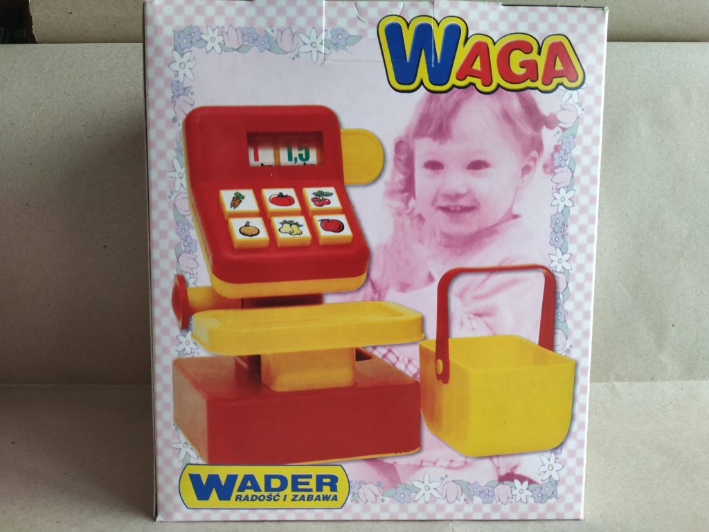 Dětská váha Wader (HR2.4)