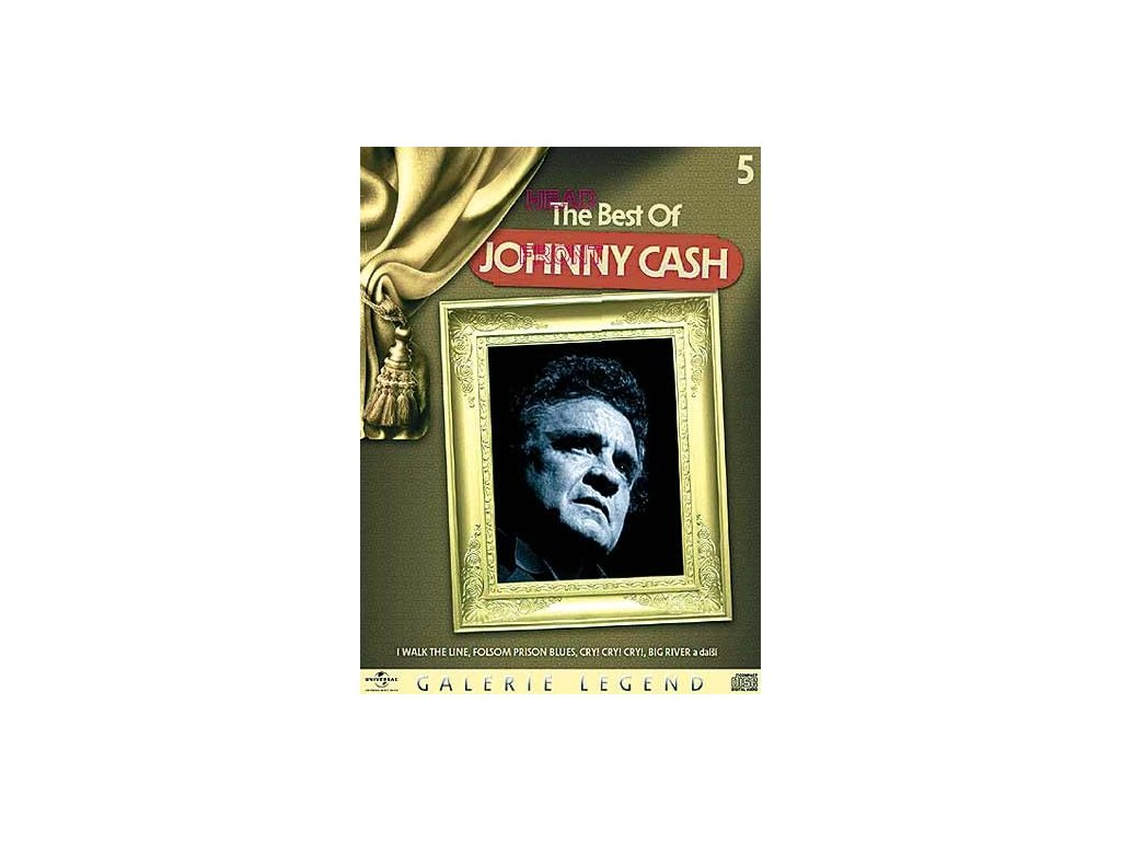 Johnny Cash - The Best Of, CD - digipack