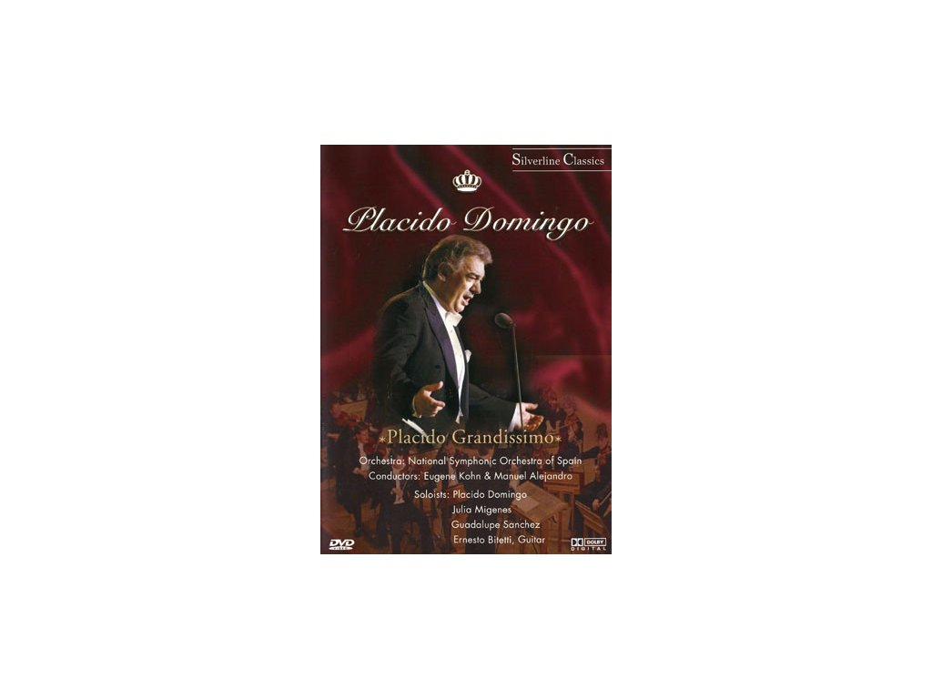 Placido Domingo - Placido Gradissimo, DVD