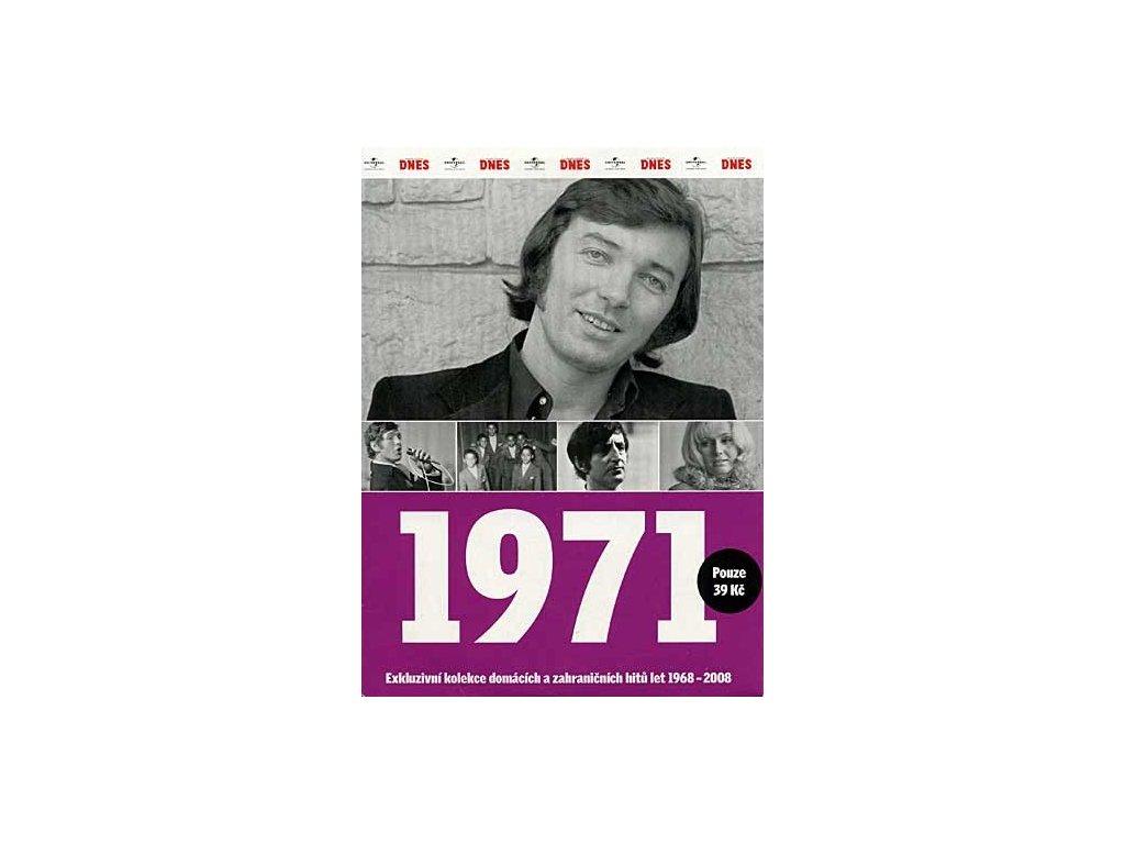 Různí - 1971 Exkluzivní kolekce hitů a událostí, CD pošetka