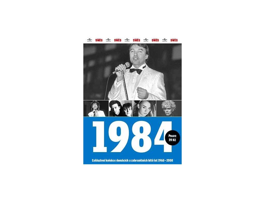 Různí - 1984 Exkluzivní kolekce hitů a událostí, CD pošetka