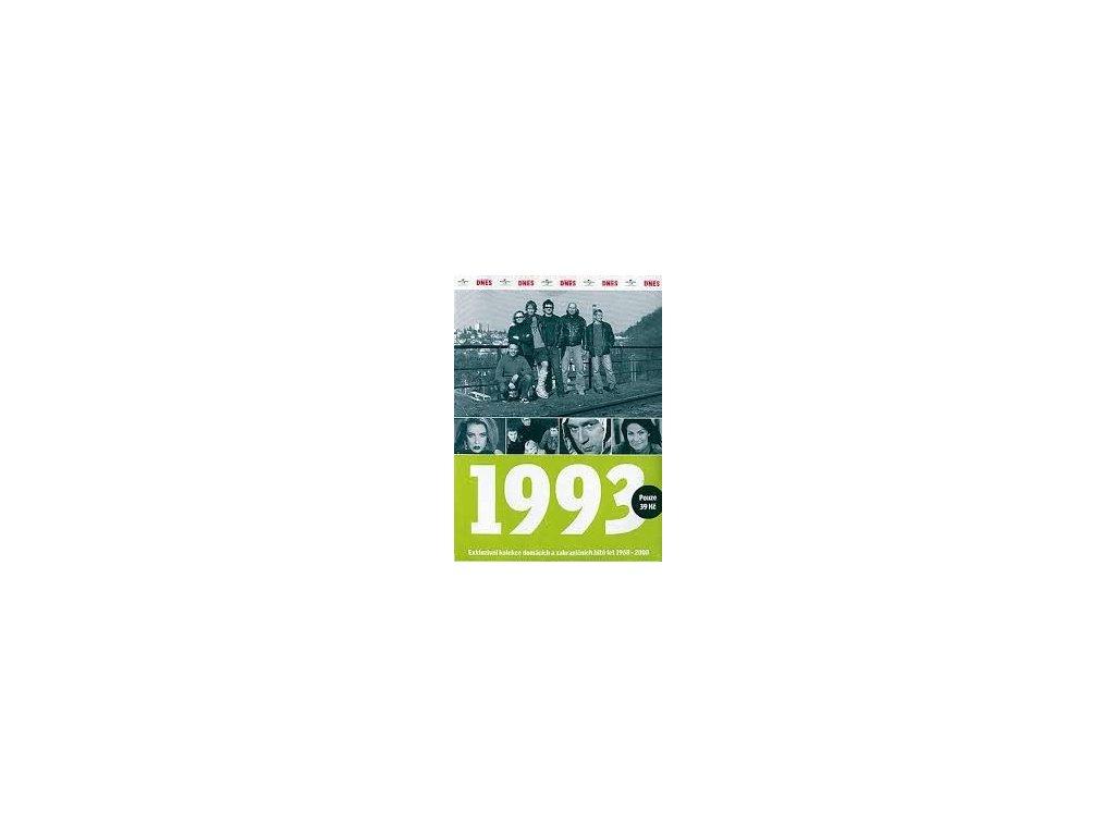 Různí - 1993 Exkluzivní kolekce hitů a událostí, CD pošetka