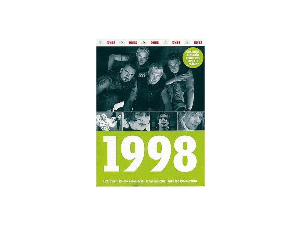 Různí - 1998 Exkluzivní kolekce hitů a událostí, CD pošetka