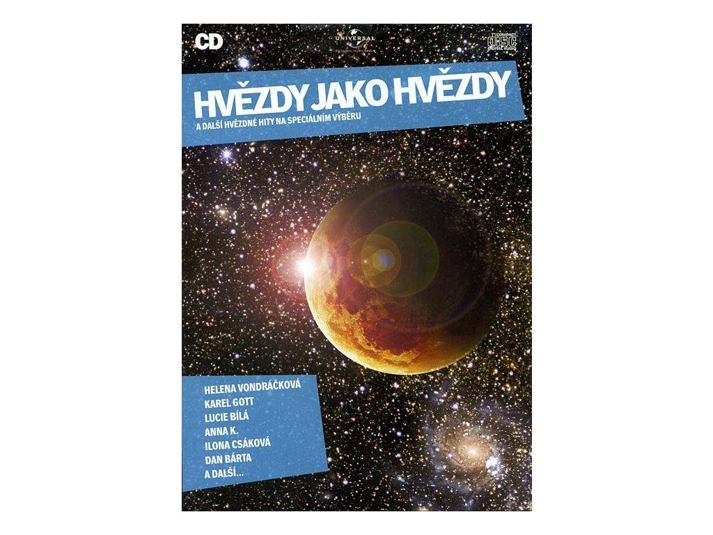 Různí - Hvězdy jako hvězdy a další hvězdné hity, CD pošetka
