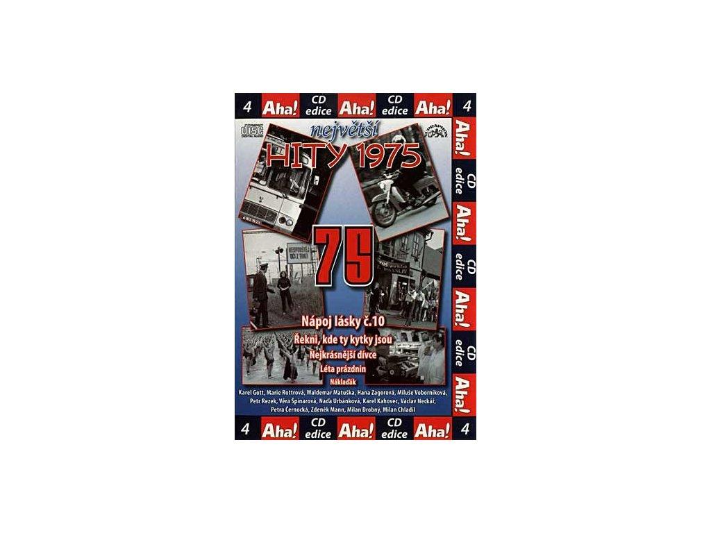 Různí - Největší hity 1975, CD pošetka