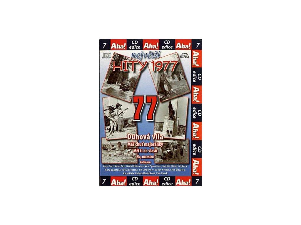 Různí - Největší hity 1977, CD pošetka