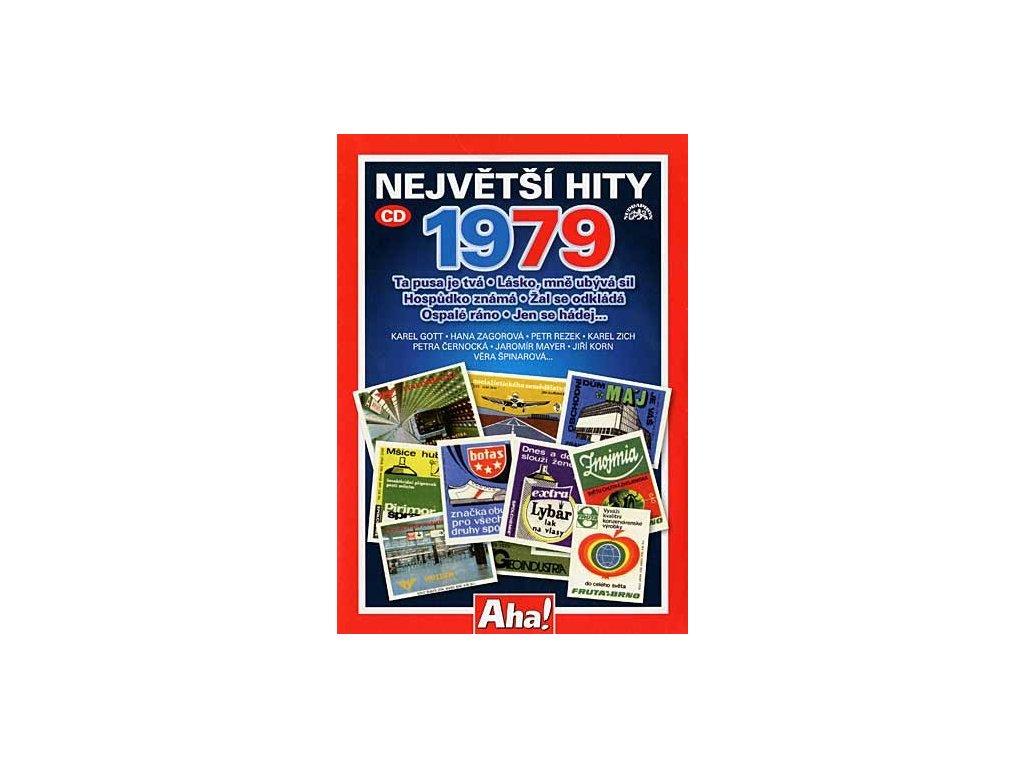 Různí - Největší hity 1979, CD pošetka