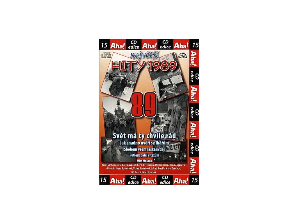 Různí - Největší hity 1989, CD pošetka