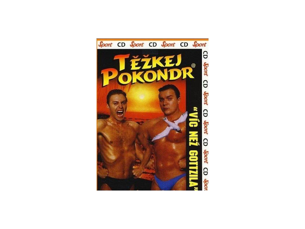 Těžkej Pokondr - Víc než Gottzila, CD pošetka