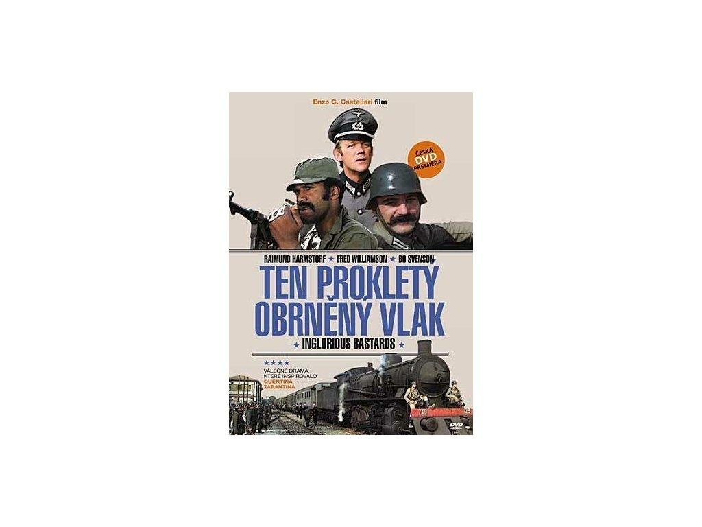 dvd ten proklety obrneny vlak inglorious bastards