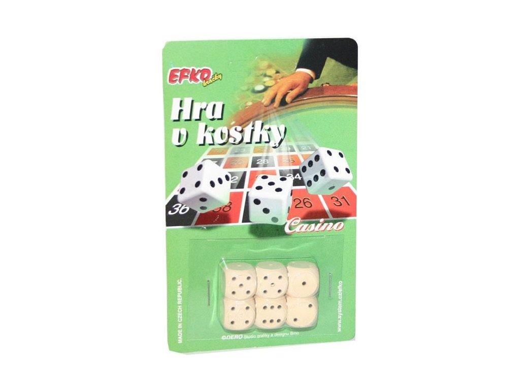 Hrací kostky Casino