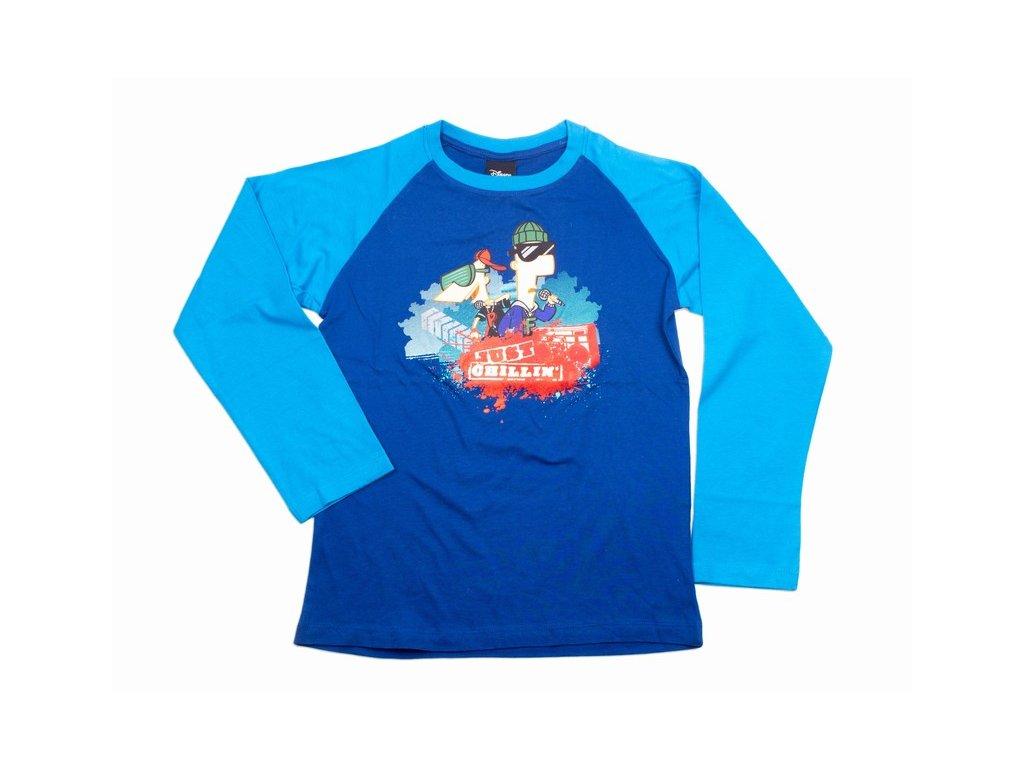 Chlapecké tričko Phineas a Ferb (Disney)