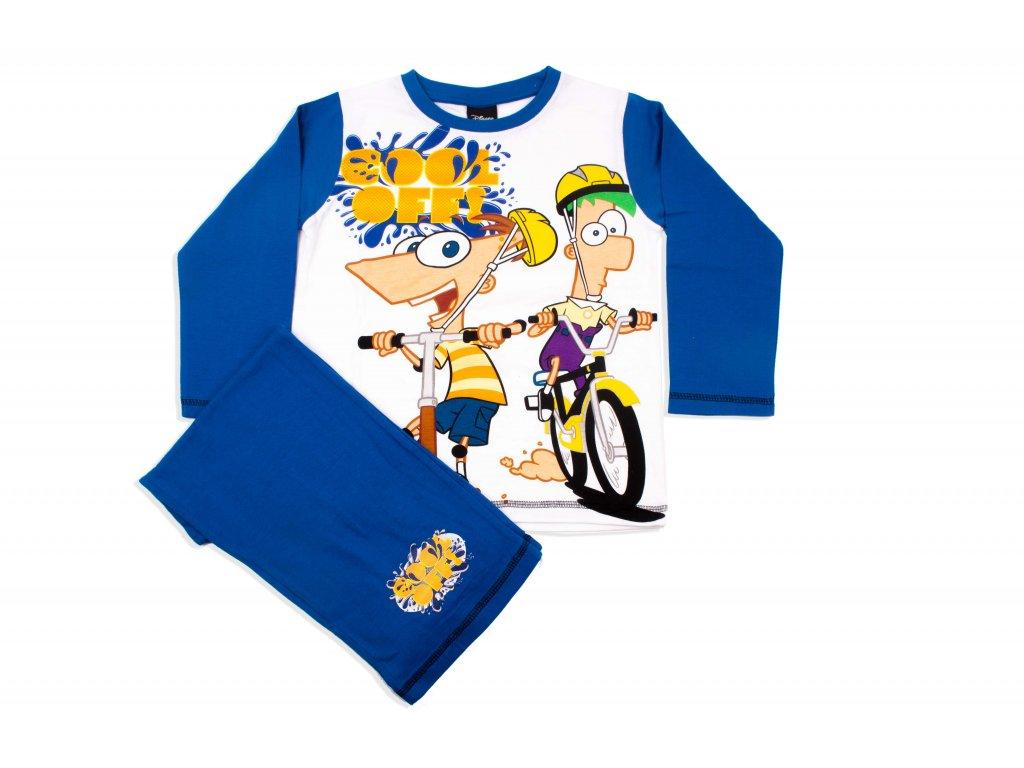 543aa7c17656 Chlapecké pyžamo Phineas a Ferb (Disney) - Obchodnawebu
