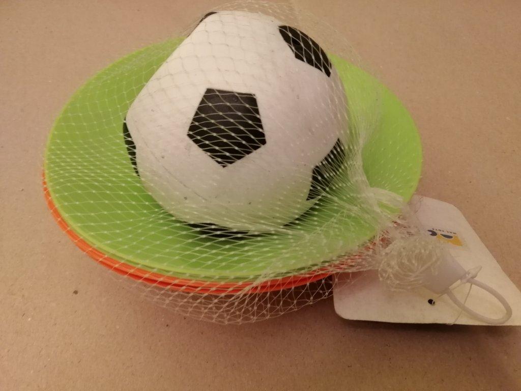 Fotbalový míč malý + kloboučky