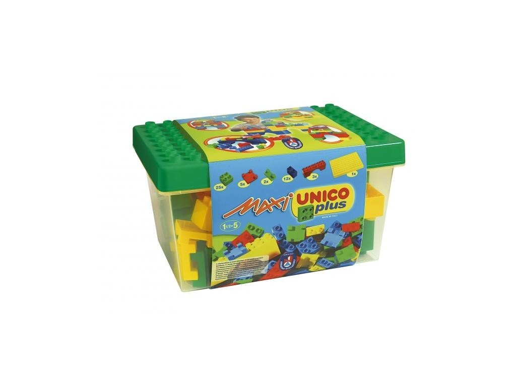 Stavebnice UNICO MAXI BOX - kostky (od 18. měs)