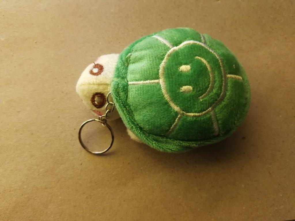 Přívěsek želva zelená