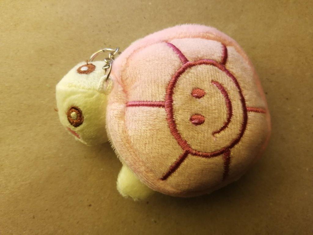Přívěsek želva růžová
