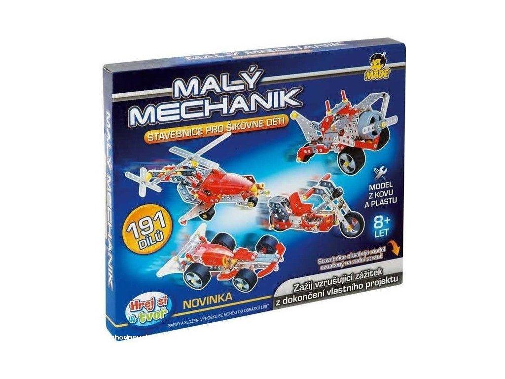 Malý mechanik - dopravní prostředky II. (Vrtulník)
